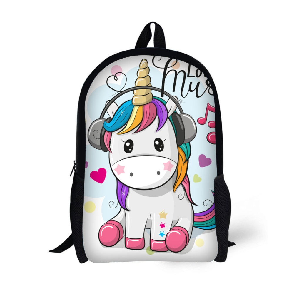 School backpack children backpack unicorn creative classic Printing for High School Backpacks for Teenagers in Backpacks from Luggage Bags