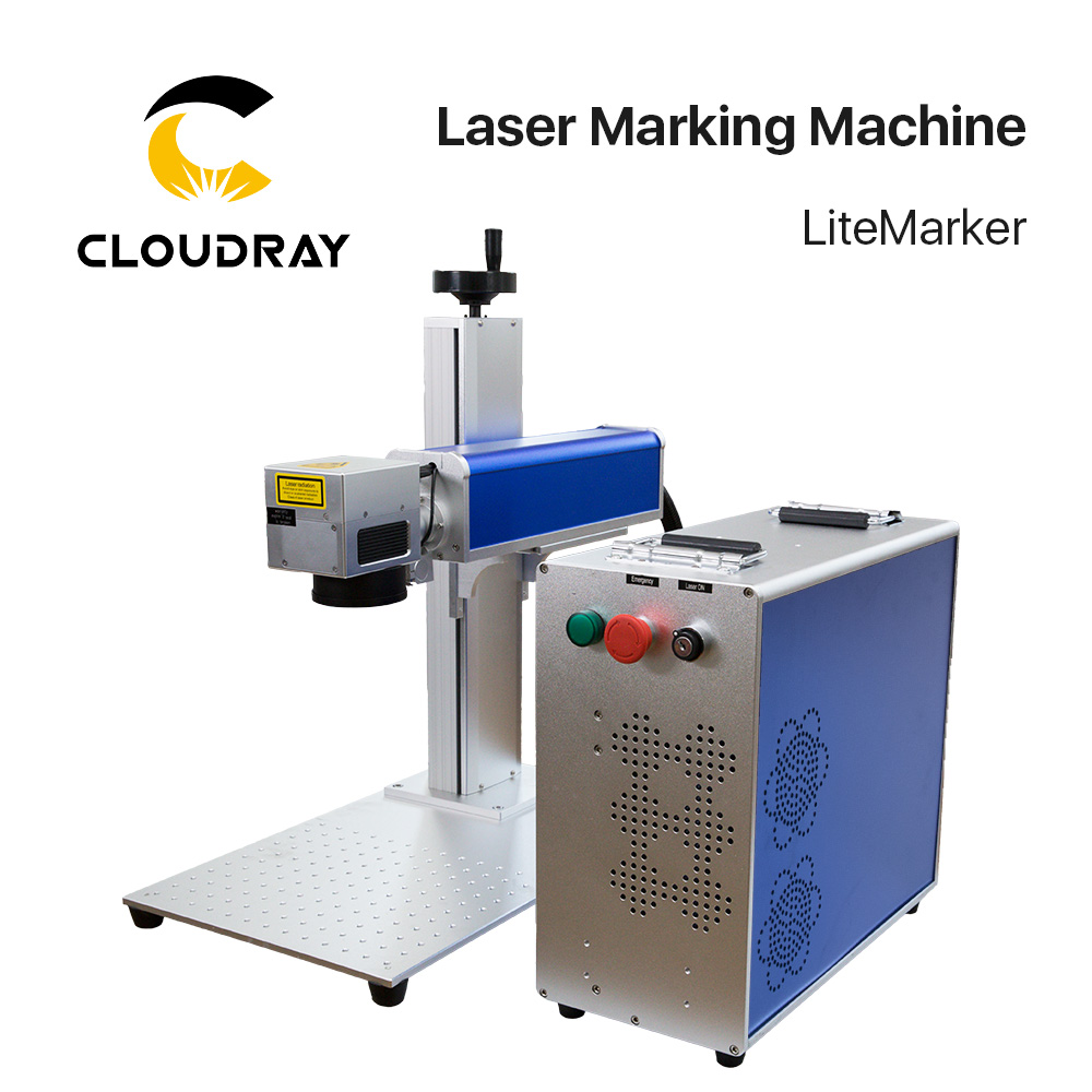 20-50W Fiber Laser Marking Machine Raycus MAX IPG For Marking Metal Stainless Steel