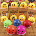 6cm Vomiting of The Egg Yolk Lazy Egg Vomiting Dolls Vomit Eggs Nausea Egg Funny Toys Free Shipping