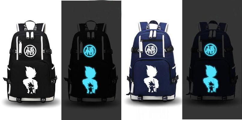 Dragon Ball Goku Luminous Laptop Backpack