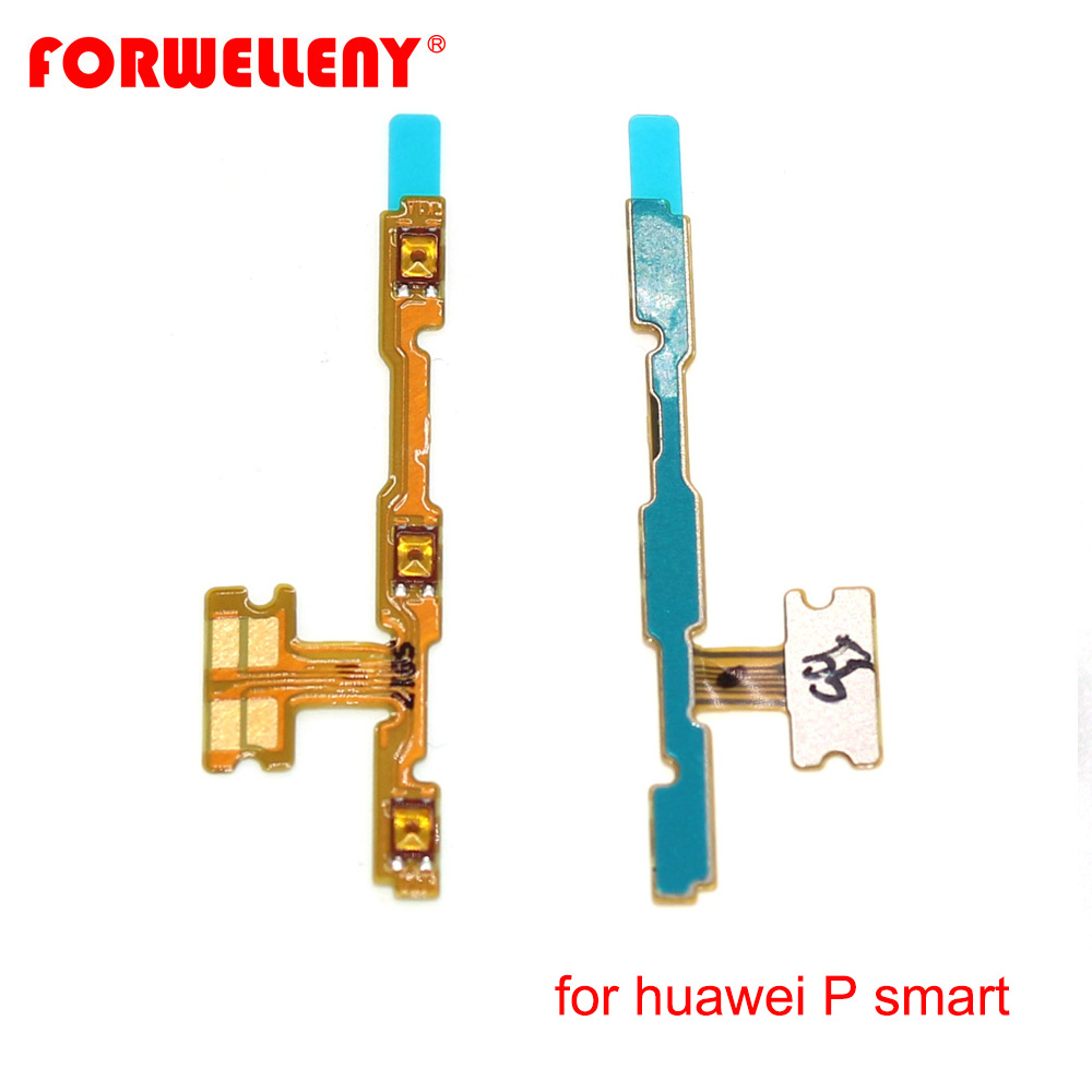For Huawei P Smart / Enjoy 7S FIG-LX1 Power Switch On/Off Button Volume Key Button Flex Cable FIG-LA1 FIG-LX2 FIG-LX3