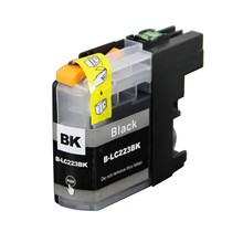 4XGeneric Black  Inkjet Printer Ink B- LC223 223C For Brother  MFC-J4625DW  J4620DW J5620DW EU Market