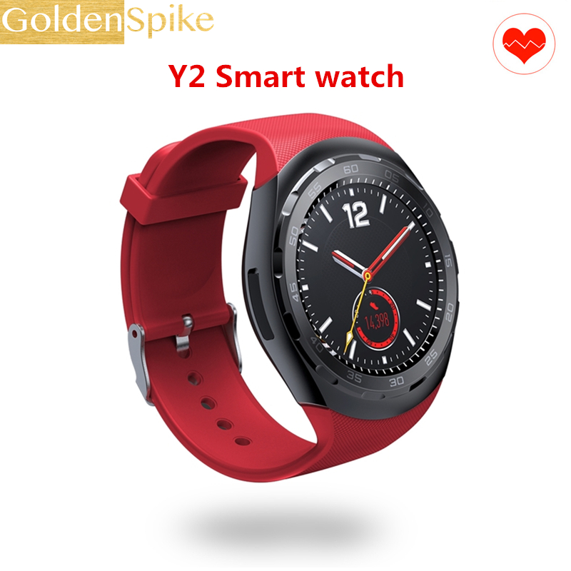 Smart Watch Y2 PK Y1 A1 U8 Clock Support Heart Rate Bluetooth 4.0 Remote camera control fashion SmartWatch For Android iOS phone умные часы smart watch y1