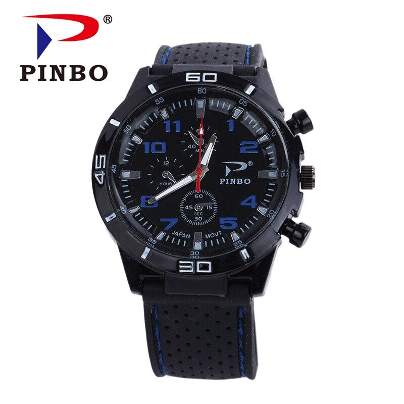 Reloj Hombre 2017 Fesyen Sukan jenama jam tangan lelaki jam tangan ... c913151b74