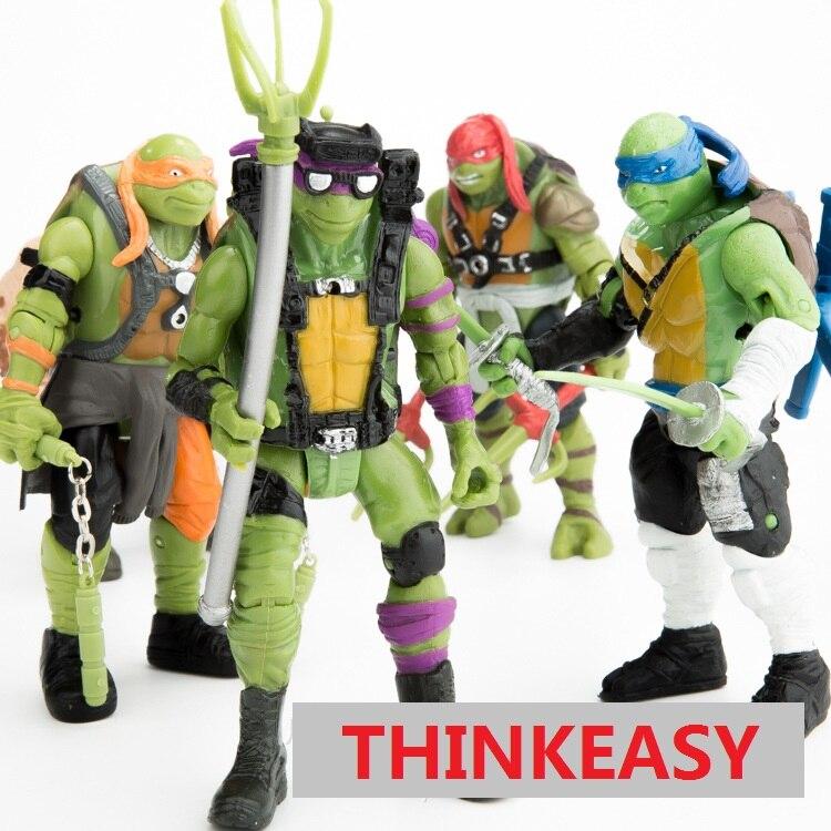 6 pcs/<font><b>set</b></font> <font><b>my</b></font> Ninja <font><b>little</b></font> Turtles dolls, children <font><b>toys</b></font> for birthday holiday patrol gift <font><b>poni</b></font> <font><b>cartoon</b></font> action <font><b>figure</b></font> doll Anime