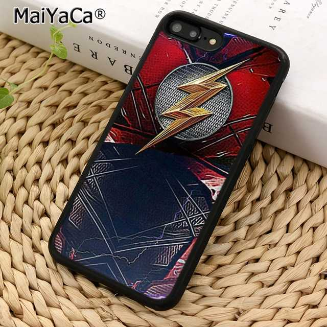 MaiYaCa DC Бэтмен Marvel flash man чехол для телефона чехол для iPhone 5 6s 7 8 plus 11 pro X XR XS max samsung S6 S7 edge S8 S9 S10