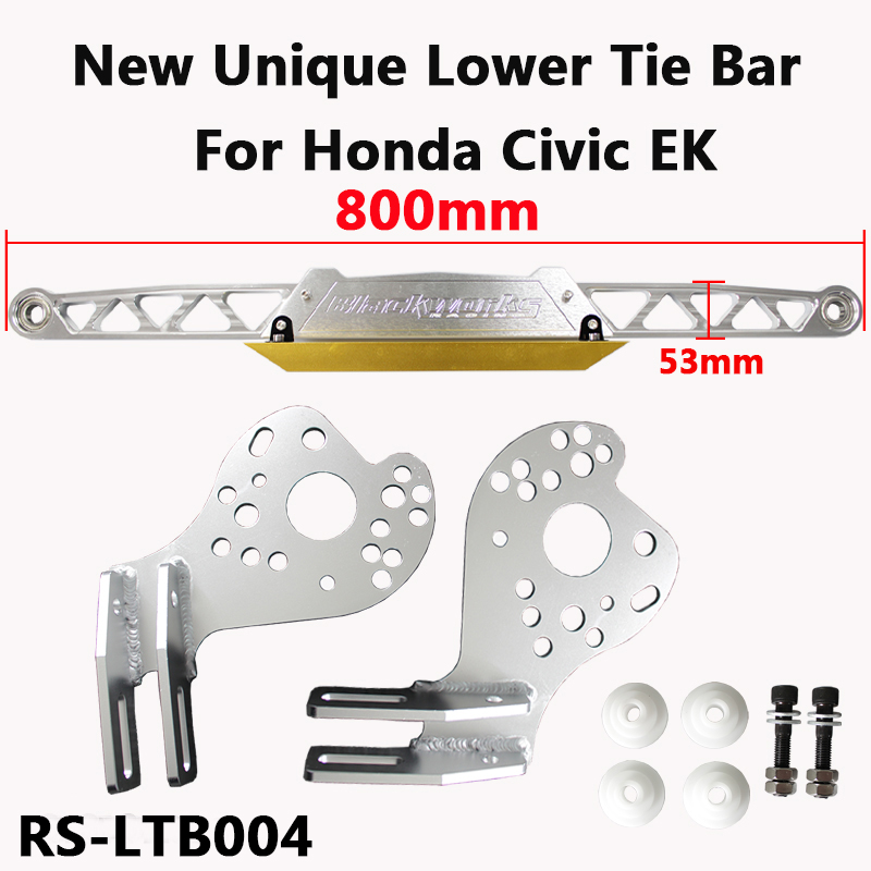 Exclusive Design Billet Racing Rear Lower Tie Bar Integrated Lower Control Arm For CIVIC 06 12 RSX DC5 EP3 EM2 ES1 RS LTB004