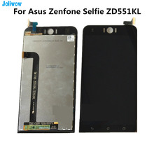 For Asus Zenfone Selfie ZD551KL Z00UD LCD display+Touch screen Digitizer Assembly for phone Asus ZD551KL LCD skinbox asus zenfone selfie zd551kl