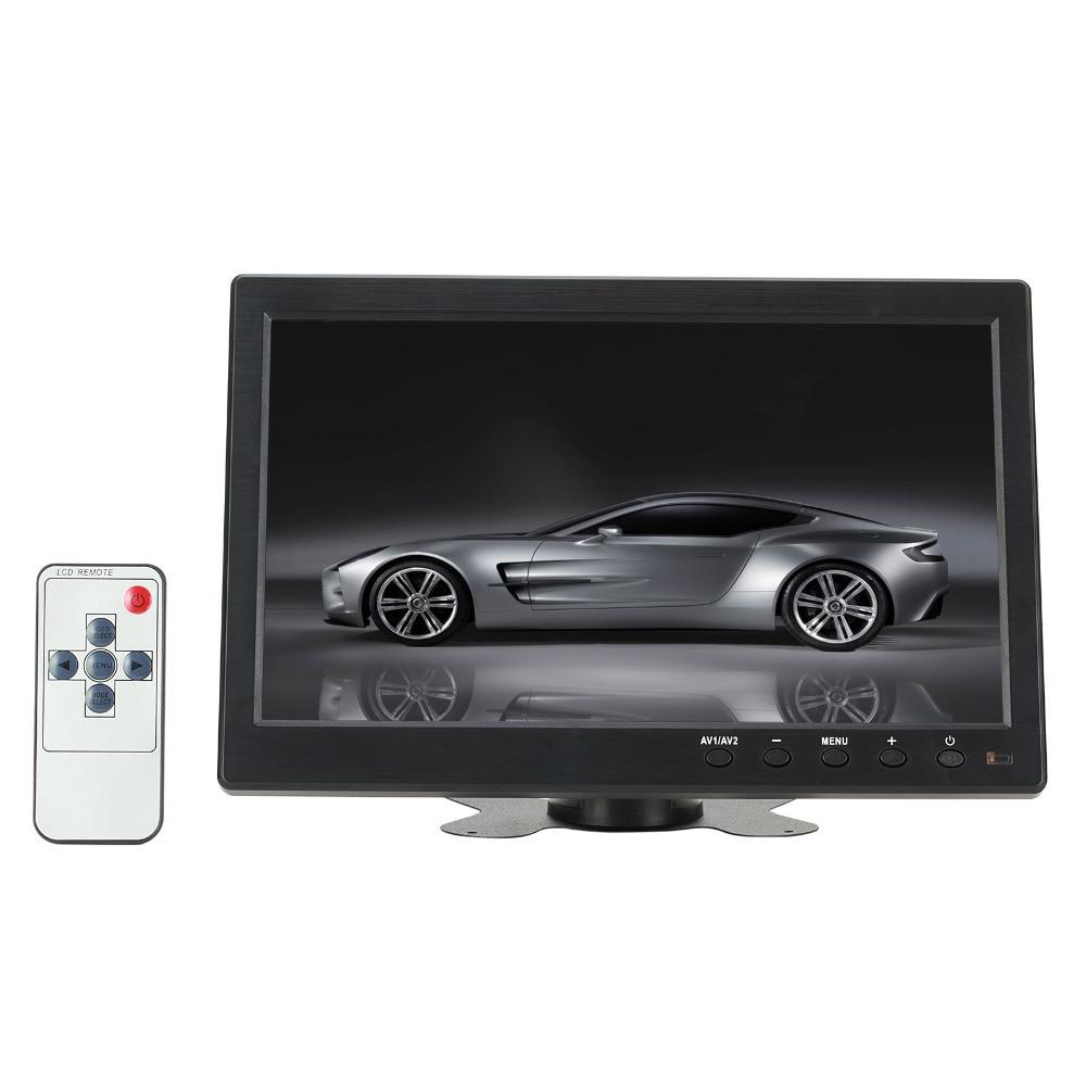 """10.1 """"1024*600 Пиксели HDMI VGA AV USB Выход автомобиля Мониторы с Экран тонкий Дизайн УФ покрытие для мониторы Ing и др ПК"""