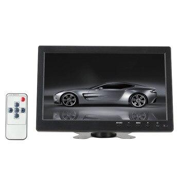 10.1″ 1024*600 Pixels HDMI VGA AV USB Output Car Monitor with Screen Slim Design UV Coating for Monitoring ETC PC