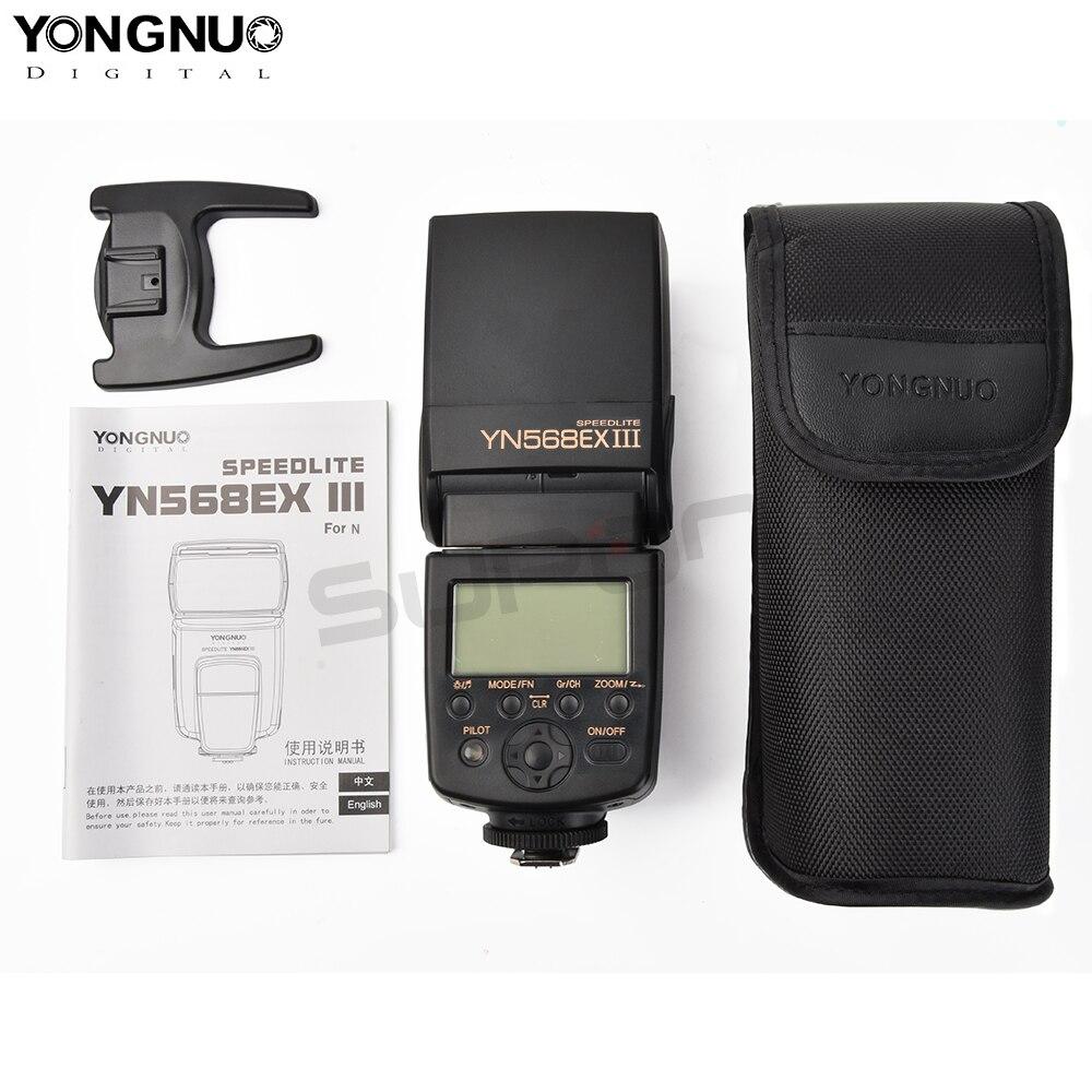 Yongnuo Flash YN-568EX III for Nikon HSS Flash Speedlite YN568 D800 D700 D600 D200 D7000 D90 D80 D5200 D5100 D5000 D3100 D3000 yongnuo yn 568ex yn 568 ex wireless slave ttl flash speedlite for nikon d7100 d7000 d5200 d5100 d5000 d3200 d3100