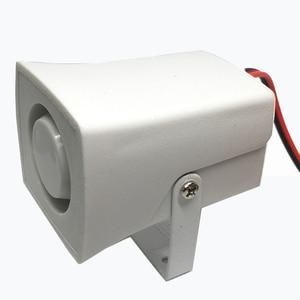Image 4 - Mini klaxon, sirène dalarme sonore, 105db, sirène dintérieur filaire 12V DC, pour la maison et le système dalarme