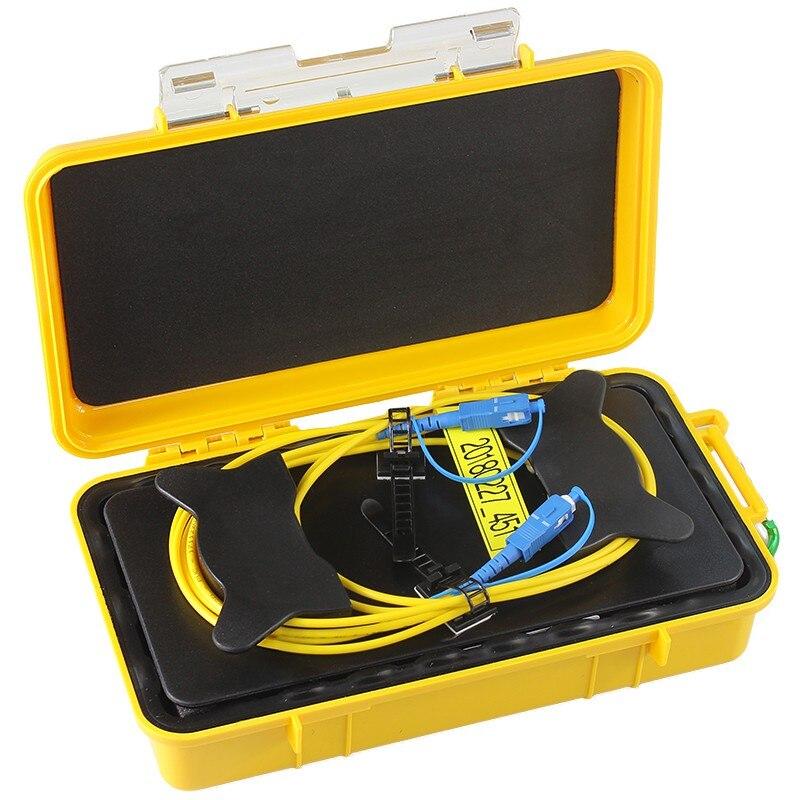 FirstFiber OTDR Launch Cable Box, OTDR Dead Zone Eliminator, OTDR Fiber Rings, Fiber reel,1000m 1km FC/SC/LCFirstFiber OTDR Launch Cable Box, OTDR Dead Zone Eliminator, OTDR Fiber Rings, Fiber reel,1000m 1km FC/SC/LC