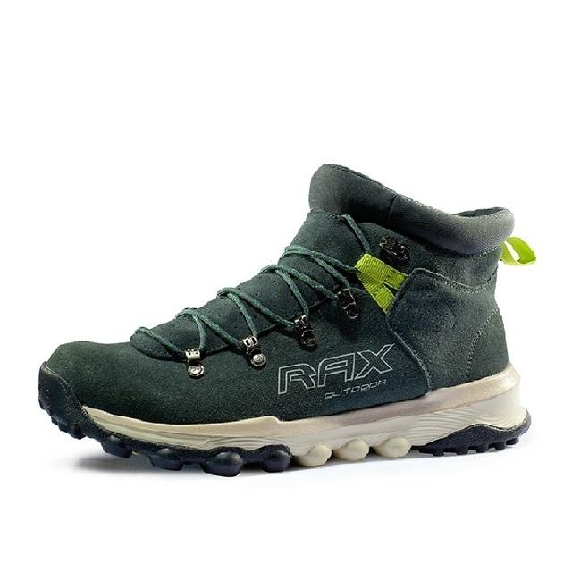 Ankle Boots de Camurça Botas De Couro Dos Homens Para O Homem Casal Botas de Couro Genuíno de Qualidade Superior Amortecimento Eva Solas # B2024