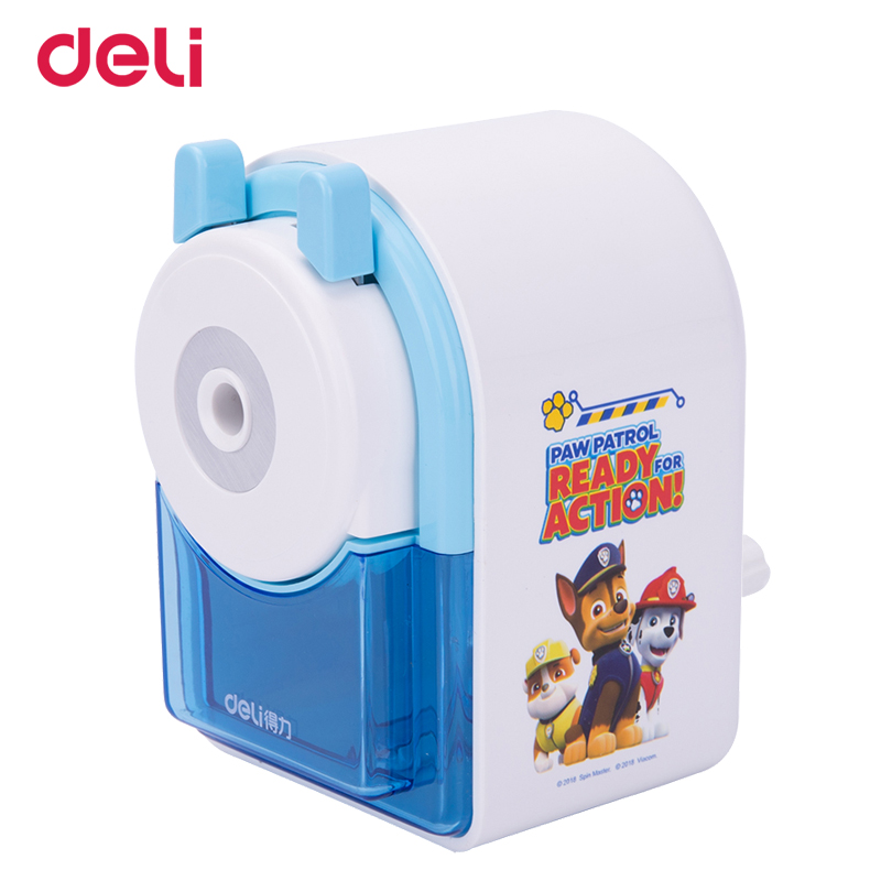 Deli dropship paw patrol cartoon pattern mechanical pencil sharpener for school office art supply cute puppy stationery kid gift deli cute stationery thomas mechanical pencil sharpener train friends give child a learning gift good quality school stationery