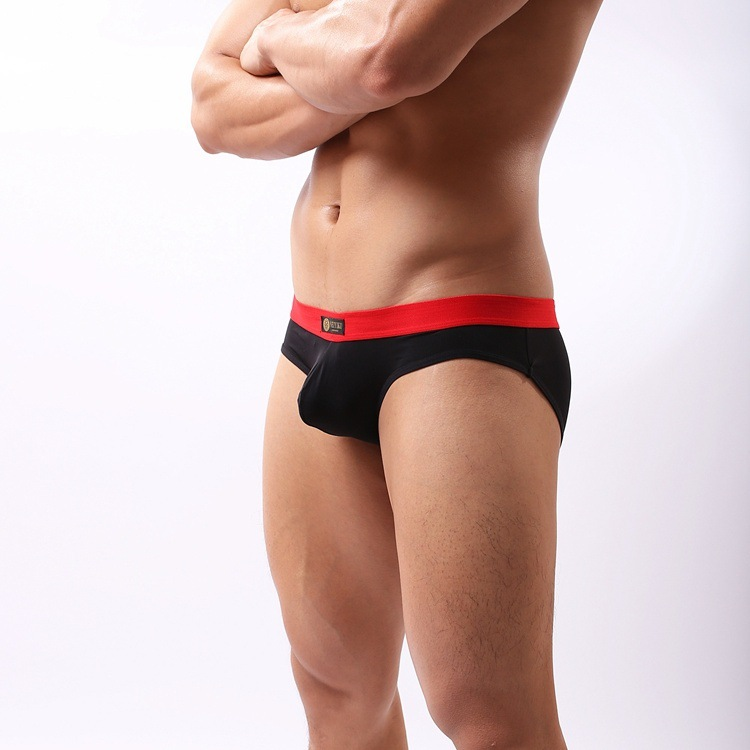 Mens Briefs Sexy Modal Solid Male panties summer thin Slim Breathable Low-waist 4pcs/Lot Underpants