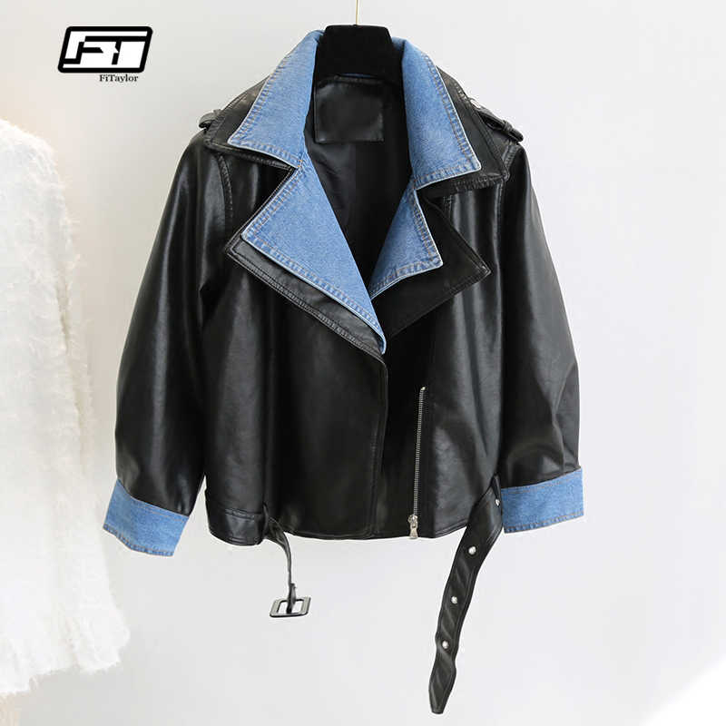 a1350cf2a Detail Feedback Questions about Camouflage Leather Jacket Women 2019 ...