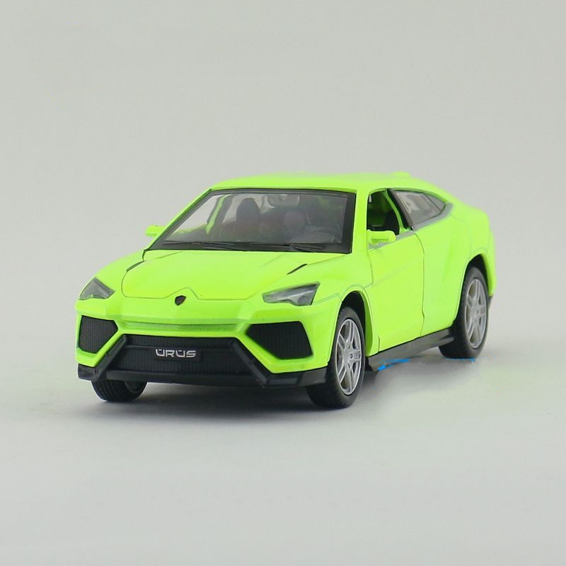 Children Lights & Sound Caipo URUS SUV Diecast Car Model 5.5inch1:32 Diecasts Metal Cars Toy Pull Back Gift For Kids