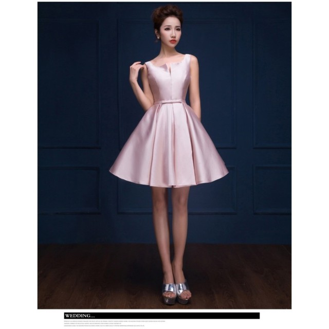 b498ef8ddf6 Stunning Elegant Simple Taffeta Homecoming Dress Lace Up Short Gowns Satin  Prom Party Short Graduation Dress