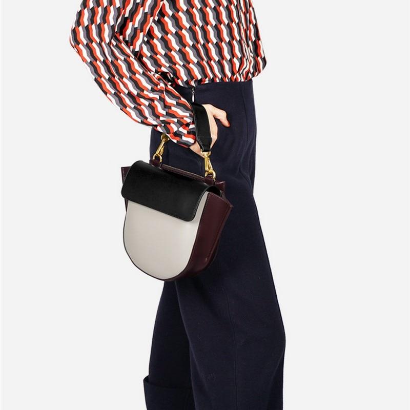 Corps Nouvelle Shunfa Beige Croix Femmes 2019 Mode À bourgogne Portable Couleur Sac Couture Nouvelles E Main Élégant tout noir De Fourre Femelle Petite H5Swqfgd