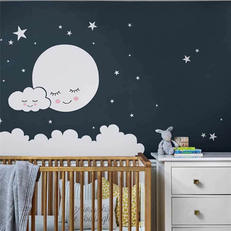 Wall Decal Cloud Nursery Stickers