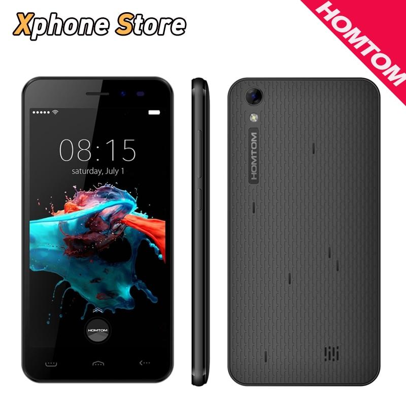 HOMTOM HT16 5.0 inch Android 6.0 3G WCDM 8GB+1GB MTK6580 Quad Core 1.3GHz Dual SIM 3000mAh Mobile Phone
