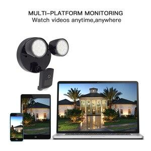 Image 2 - Vstarcam Outdoor HD 1080P LED Floodlight IP Camera Wifi Outdoor Waterproof Camera PIR Motion Detection Surveillance Security Cam