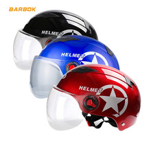 Motorcycle Safety Helmets Transparent Windproof Sunscreen Mask Outdoor Sports Scooter Snowboard Daily Motorbike Bicycle Caps