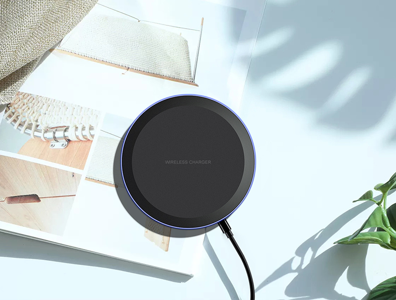 ESVNE 5W Qi Wireless Charger for iPhone X Xs MAX XR 8 plus Fast Charging for Samsung S8 S9 Plus Note 9 8 USB Phone Charger Pad-in Wireless Chargers from Cellphones & Telecommunications on Aliexpress.com | Alibaba Group 11