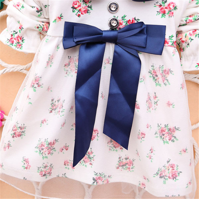 2017-Spring-New-Fashion-Baby-Girls-Cotton-Dress-Big-Bow-Infants-Nice-Floral-Dresses-4