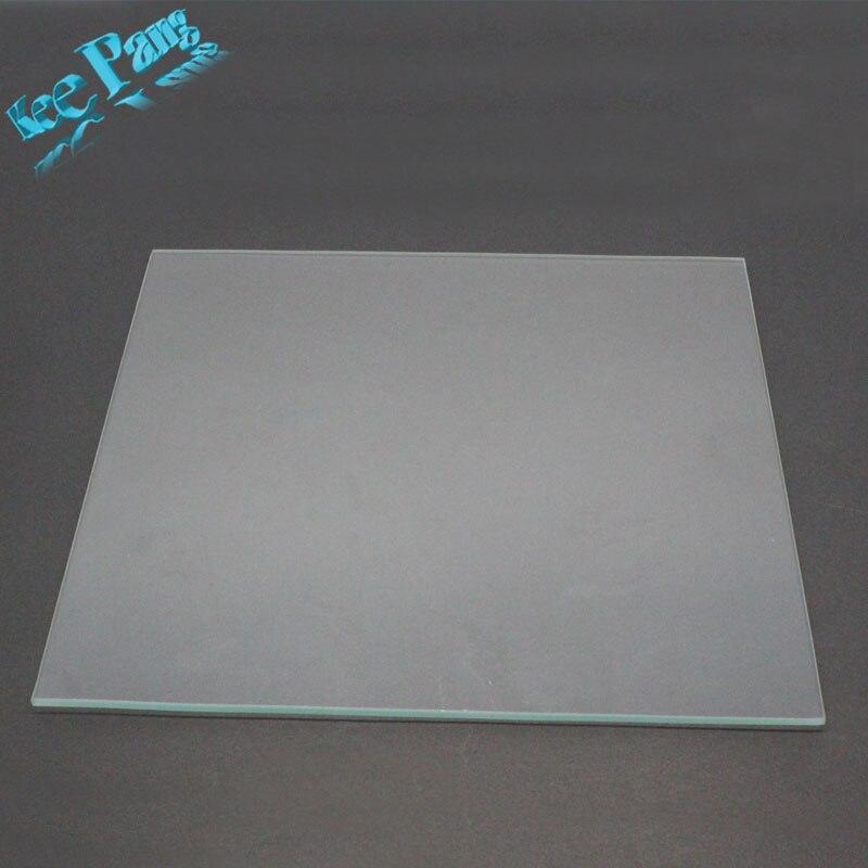 MK2 Beheizte Bett Borosilikatglas Platte Größe 213mm * 200mm * 3mm 3D Drucker Teile Wärme Aus Gehärtetem teil Zubehör Heizung Gehärtetem