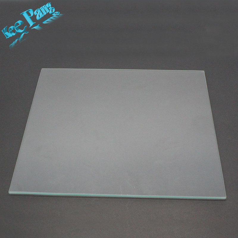 MK2 Heated Bed Borosilicate Glass Plate Size 213mm*200mm*3mm 3D Printers Parts Heat Tempered Part Accessories Heating Toughened 3d printer um2 heating bed heated glass platform glass fixed clip adjust device for ultimaker2 spring m3 screw 3sets
