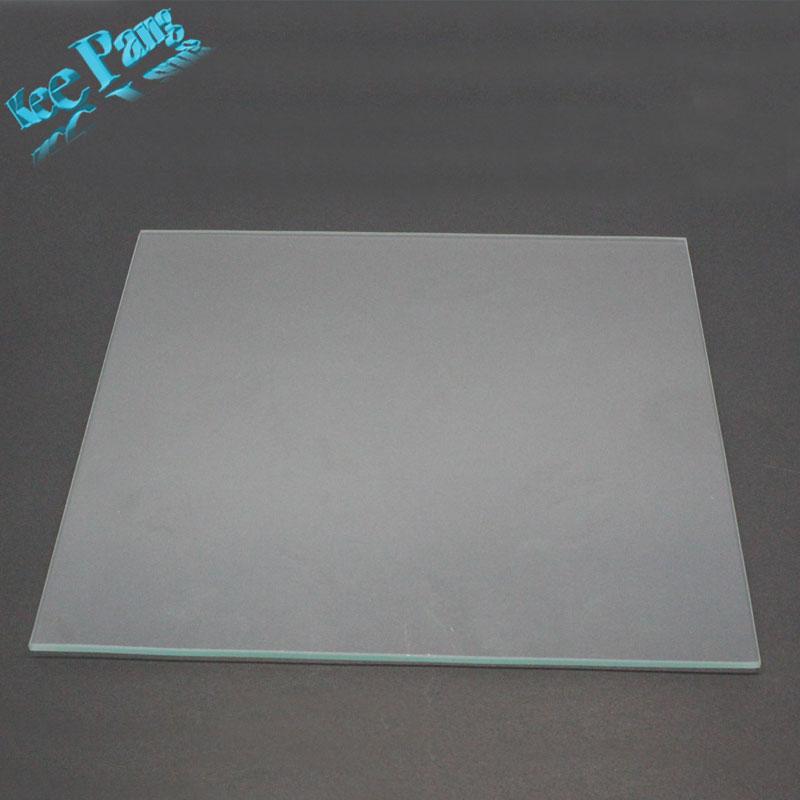 MK2 Riscaldata Bed Vetro Borosilicato Dimensione Piastra 213mm * 200mm * 3mm 3D Stampanti Parti di Calore Temperato Accessori parte Riscaldamento Temperato