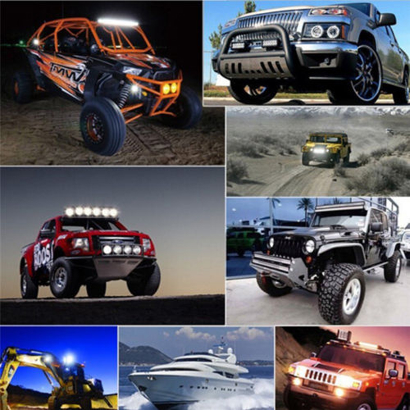 Car 5 Inch 72W LED Work Light Bar Flood Driving Lamp Truck Boat Off-road
