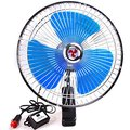 "1pcs 8"" Car Oscillating Fan Automobile Car Fan Vehicle Cooling Fan With Clip Cigarette Lighter Plug 12v"