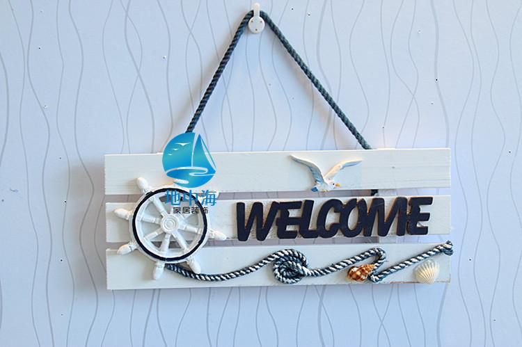 aeProduct.getSubject() & Aliexpress.com : Buy Welcome sign country style wood wall shelf ...