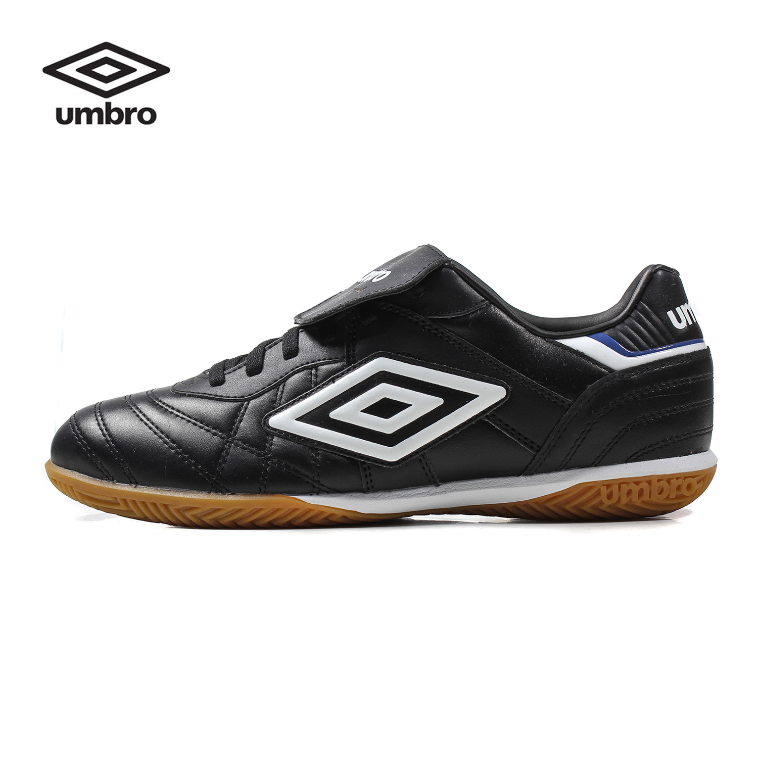 Umbro Men Soccer Shoes Sports Sneaker Indoor Soccer Boots Turf Shoes Leather Lace up Professional Football