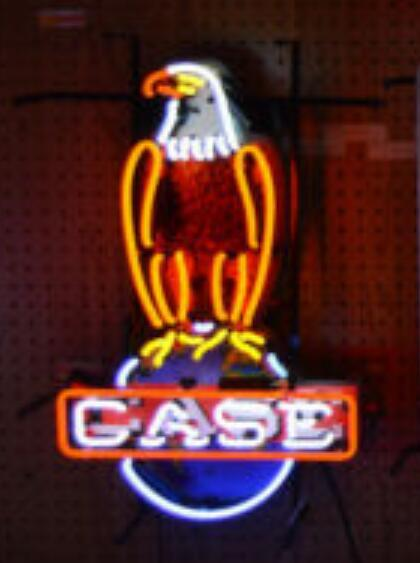 Custom Case Eagle Glass Neon Light Sign Beer Bar 1