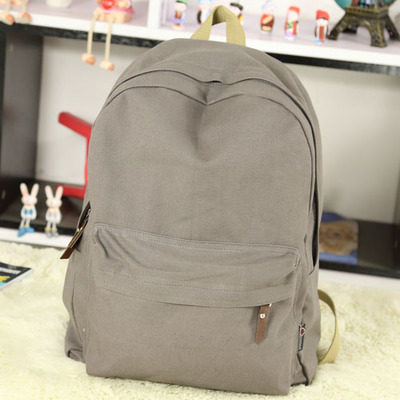 Pretty style canvas candy color women backpack college student school book bag leisure backpack pretty style pure color canvas women backpack college student school book bag leisure backpack travel bag