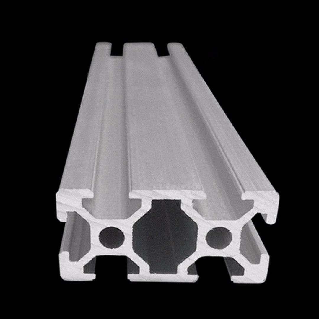 2040 T-Slot Aluminum Profiles Extrusion Frame 500mm Length For 3D Printer CNC Plasma Lasers Parts Mayitr 1 piece light grey aluminum extrusion profiles heatsink wall mounted distribution case 24x80x90mm