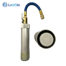 Hand pressure refrigeration system an oil doser automotive Liquid Filling Oil Cylinder injector Filler Tube OZ 121UV03 1/4SAE