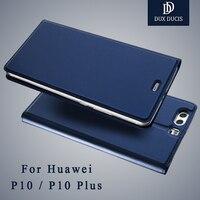 Huawei P10 Case Dux Ducis Brand Leather Flip Case Huawei P10 Lite Case Leather Wallet Phone