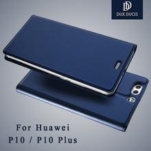 Huawei P10 случае dux DUCIS Марка Бумажник кожаный чехол Huawei P10 Lite кожаный чехол флип чехол телефона для Huawei P10 плюс Коке дело