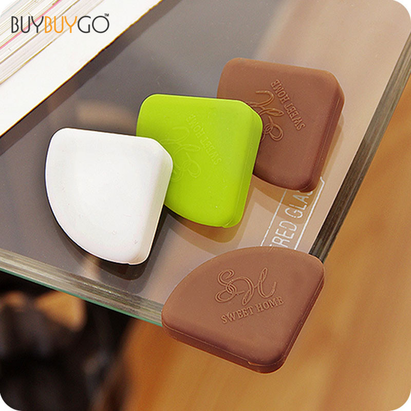 16Pcs/set Hot Baby Safety Products Silicon Corner Protector Furniture Desk Glass  Table Edge Corner