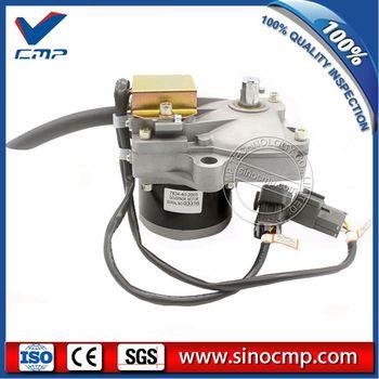 PC-6 6d102 액추에이터 7834-40-2007 7834-40-2000 komatsu 굴삭기 용 스로틀 모터