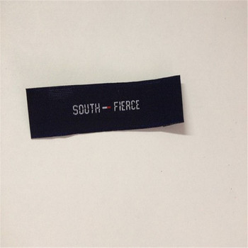 Customized Single brocade Woven labels Clothing Labels
