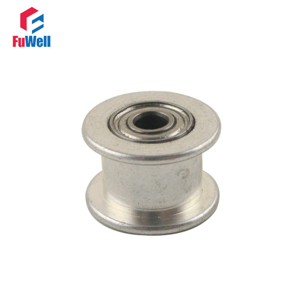 4pcs 2gt 20t Timing Idler Pulley Aluminum Alloy Without