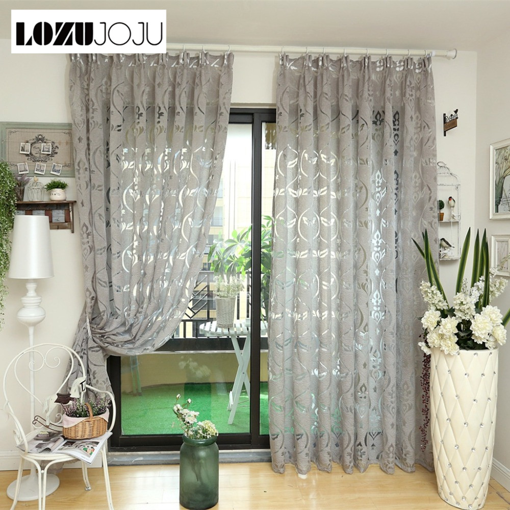 Us 7 35 49 Off Lozujoju Modern Curtain Kitchen Ready Made Bronze Color Curtains Window Elegant Living Room Home D In From