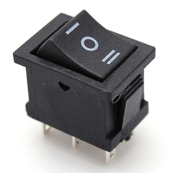 High Quality AC 6A 250V 10A 125V 5X 6Pin DPDT ON OFF ON Position Snap Boat online get cheap ce rocker switch aliexpress com alibaba group  at metegol.co