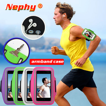 Waterproof Gym Sports Running Armbind For Size 5.2 6 inch Sports Cell Phone Case For iphone Huawei Samsung  Xiaomi Phone On Hand